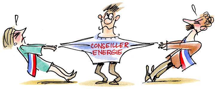 Un nouveau service : le conseil en énergie partagé