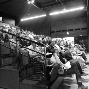 Réunion Siéml à Saint-Jean de Linière le 5 juillet 2016 concernant le PCRS