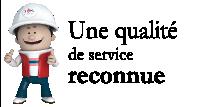Une qualité de service reconnue