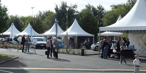 450 visiteurs présents à la journée de la mobilité électrique en Anjou !