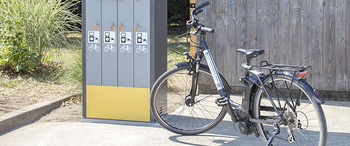 Recharger son vélo électrique sur La Loire à vélo et La Vélo Francette