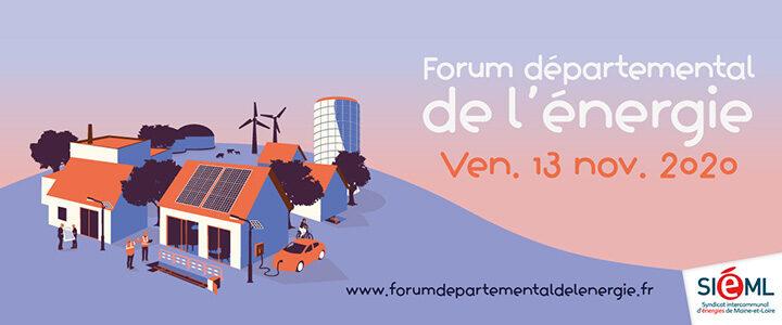 [Save the date] Forum départemental de l'énergie 2020 à distance