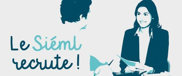 Le Siéml recrute pour renforcer ses équipes, postes à pourvoir rapidement