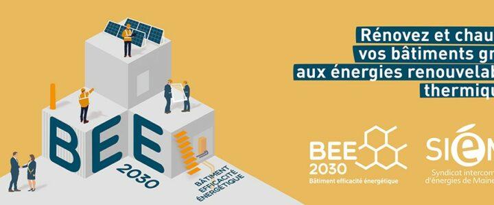 Aide à l'investissement pour la rénovation énergétique de vos bâtiments : candidatez à l'appel à projets BEE 2030